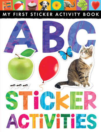 ABC Sticker Activities by Annette Rusling