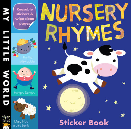 Nursery Rhymes Sticker Book by Tiger Tales
