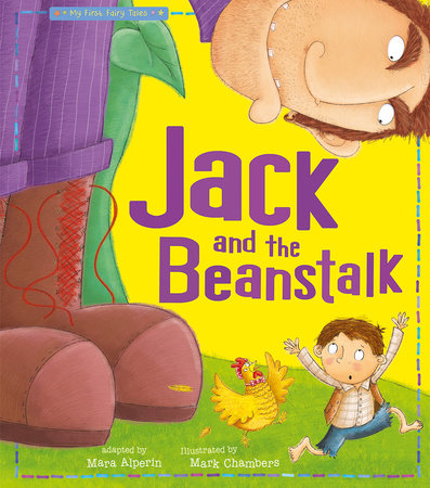 Jack and the Beanstalk by Tiger Tales; illustrated by Mark Chambers
