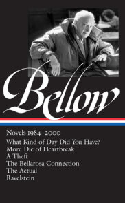 Saul Bellow: Novels 1984-2000 (LOA #260)