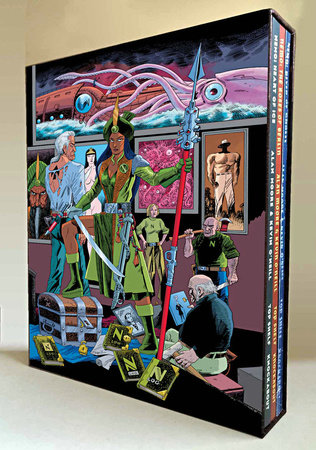 The League of Extraordinary Gentlemen: Nemo Trilogy (Slipcase Edition) by Alan Moore
