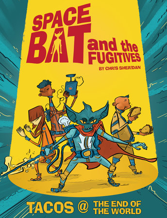 Spacebat and The Fugitives (Book One) by Chris Sheridan