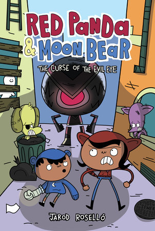 Red Panda & Moon Bear (Book 2): The Curse of the Evil Eye by Jarod Roselló
