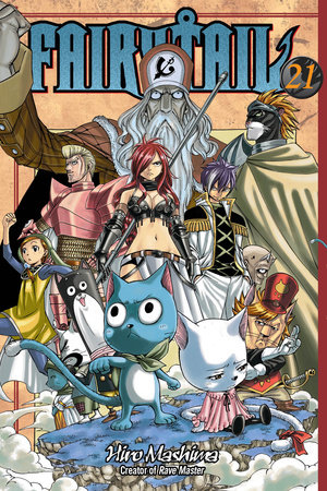 FAIRY TAIL 21 by Hiro Mashima