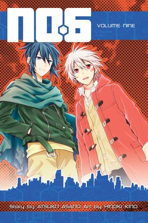No. 6 Volume 9 by Story by Atsuko Asano; Art by Hinoki Kino