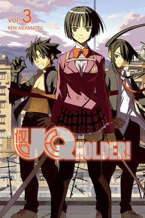 UQ HOLDER! 3 by Ken Akamatsu