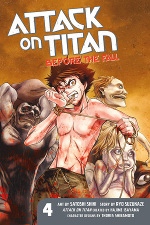 Attack on Titan: Before the Fall 4 by Ryo Suzukaze
