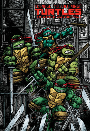 Teenage Mutant Ninja Turtles: The Ultimate Collection Volume 5 by Kevin Eastman and Peter Laird