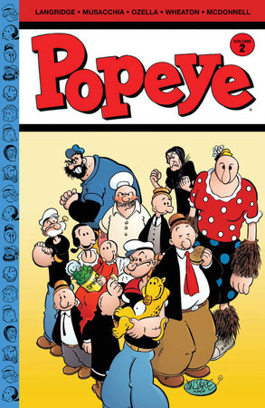 Popeye Volume 2 by Roger Langridge