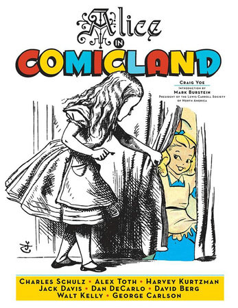Alice In Comicland by Walt Kelly, Alex Toth and Dan Decarlo
