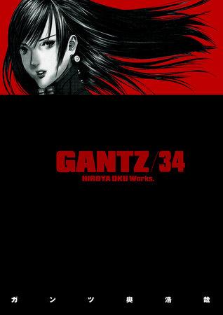 Gantz Volume 34 by Hiroya Oku