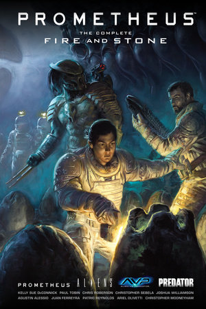 Prometheus: The Complete Fire and Stone by Kelly Sue DeConnick and Paul Tobin