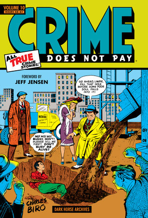 Crime Does Not Pay Archives Volume 10 by Various
