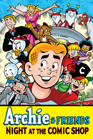 Archie & Friends: Night at the Comic Shop by Fernando Ruiz