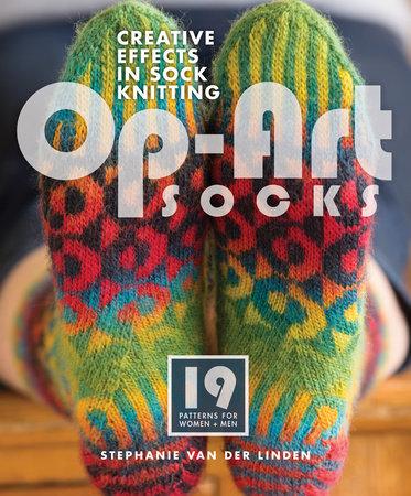 Op-Art Socks by Stephanie van der Linden