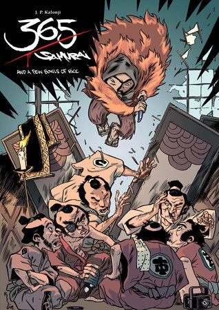 365 Samurai and a Few Bowls of Rice by J.P. Kalonji