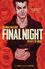 Criminal Macabre: Final Night: The 30 Days of Night Crossover