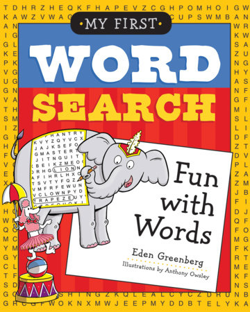 My First Word Search: Fun with Words by Eden Greenberg