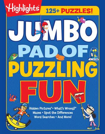 Jumbo Pad of Puzzling Fun by
