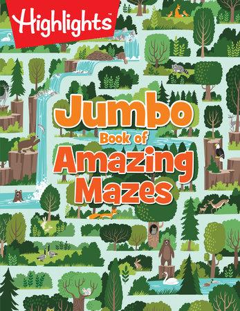 Jumbo Book of Amazing Mazes by