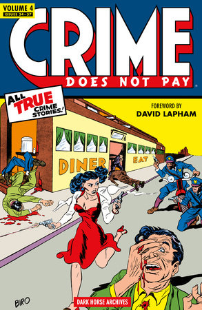 Crime Does Not Pay Archives Volume 4 by Dick Wood