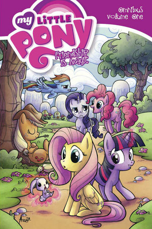 My Little Pony Omnibus Volume 1 by Katie Cook and Heather Nuhfer