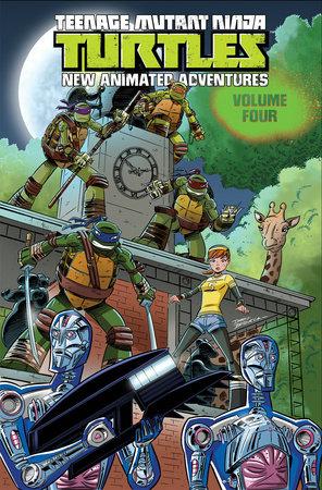 Teenage Mutant Ninja Turtles: New Animated Adventures Volume 4 by Jackson Lanzing, David Server, Landry Walker, Matt Manning and Bobby Curnow