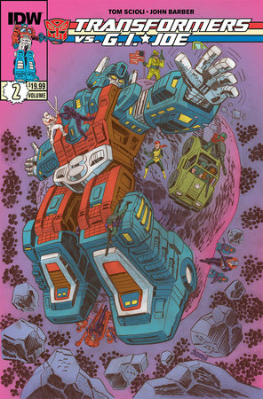 Transformers vs G.I. Joe Volume 2 by Tom Scioli and John Barber