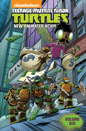 Teenage Mutant Ninja Turtles: New Animated Adventures Volume 6 by Paul Allor and Matthew K. Manning