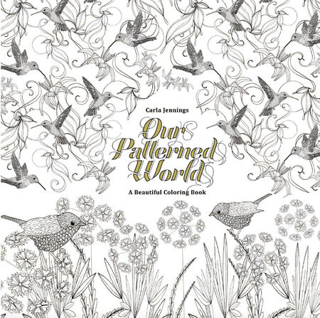 Our Patterned World: A Beautiful Coloring Book by