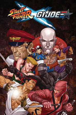 Street Fighter x G.I. JOE by Aubrey Sitterson