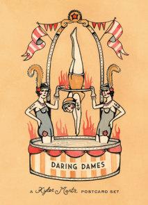 Daring Dames: A Kyler Martz Postcard Set
