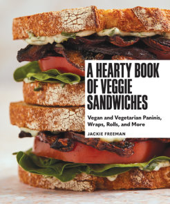 A Hearty Book of Veggie Sandwiches