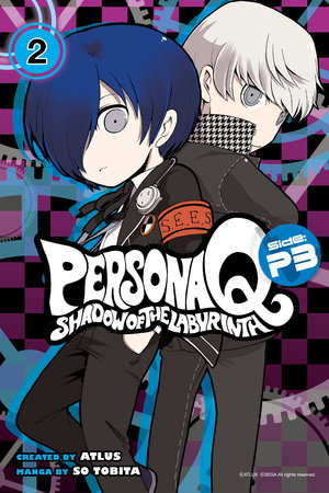 Persona Q: Shadow of the Labyrinth Side: P3 Volume 2 by So Tobita