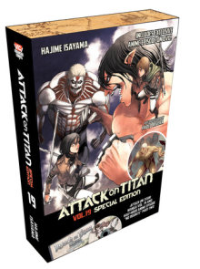 Attack on Titan 19 Manga Special Edition w/DVD
