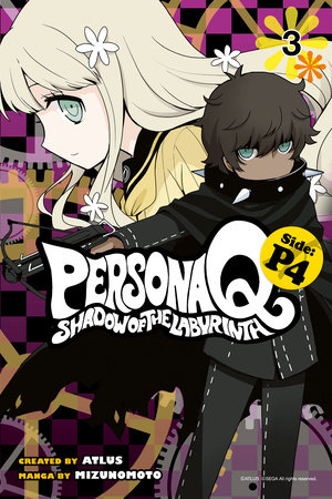 Persona Q: Shadow of the Labyrinth Side: P4 Volume 3 by Mizunomoto