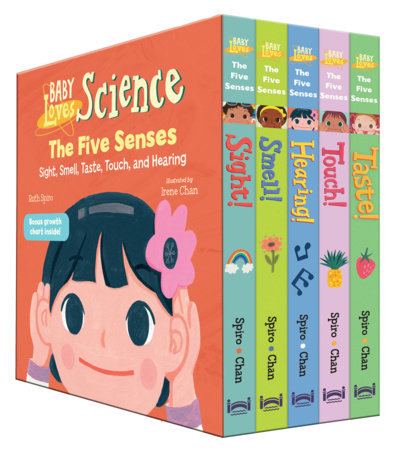 Baby Loves the Five Senses Boxed Set by Ruth Spiro