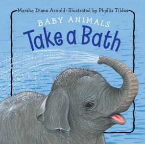 Baby Animals Take a Bath