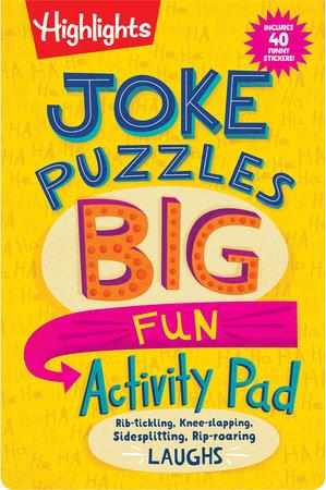 Joke Puzzles Big Fun Activity Pad by