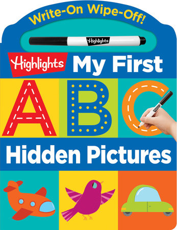 Write-On Wipe-Off My First ABC Hidden Pictures by