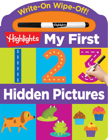 Write-On Wipe-Off My First 123 Hidden Pictures by