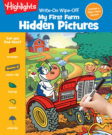 Write-On Wipe-Off My First Farm Hidden Pictures by