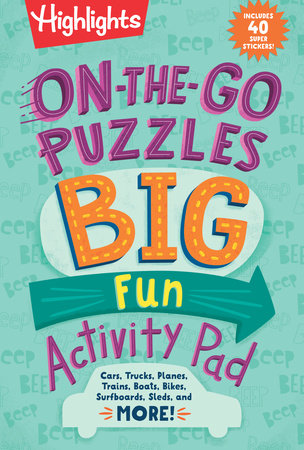 On-the-Go Puzzles Big Fun Activity Pad by