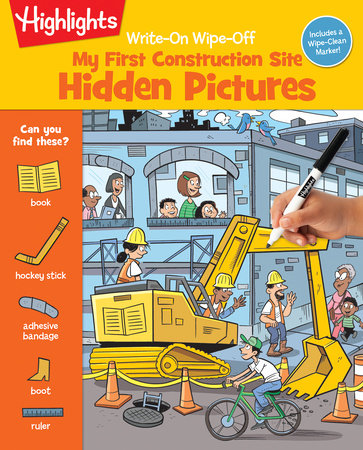 Write-On Wipe-Off My First Construction Site by