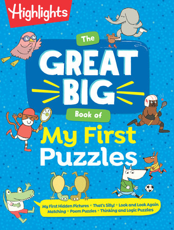 The Great Big Book of My First Puzzles by