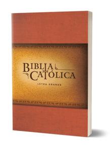 La Biblia Católica: Edición letra grande. Rústica, roja / Catholic Bible. Paperback, red