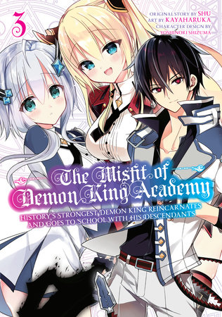 The Misfit of Demon King Academy 03 by Shu and Kayaharuka