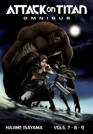 Attack on Titan Omnibus 3 (Vol. 7-9) by Hajime Isayama