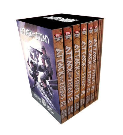 Attack on Titan The Final Season Part 1 Manga Box Set by Hajime Isayama
