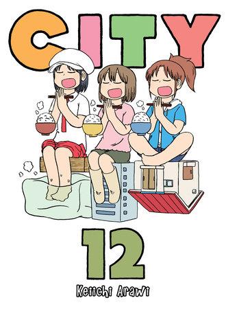 CITY, volume 12 by Keiichi Arawi